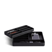 Presidio Smart Apple Watch Nesting Storage Trays in Black Finish