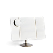 Simple Human Wide View Vanity Mirror on Tabl