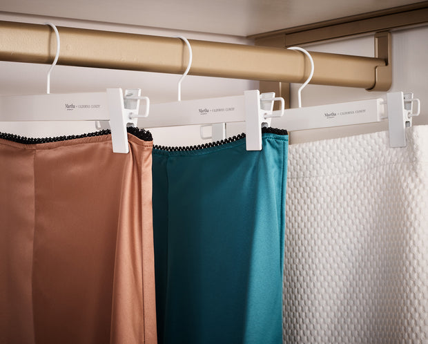 Example of Everyday Skirt Hangers with skirts | California Closets