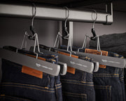 Example of Everyday Slack Hangers with slacks | California Closets