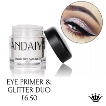 Load image into Gallery viewer, Eye glitter & primer duo
