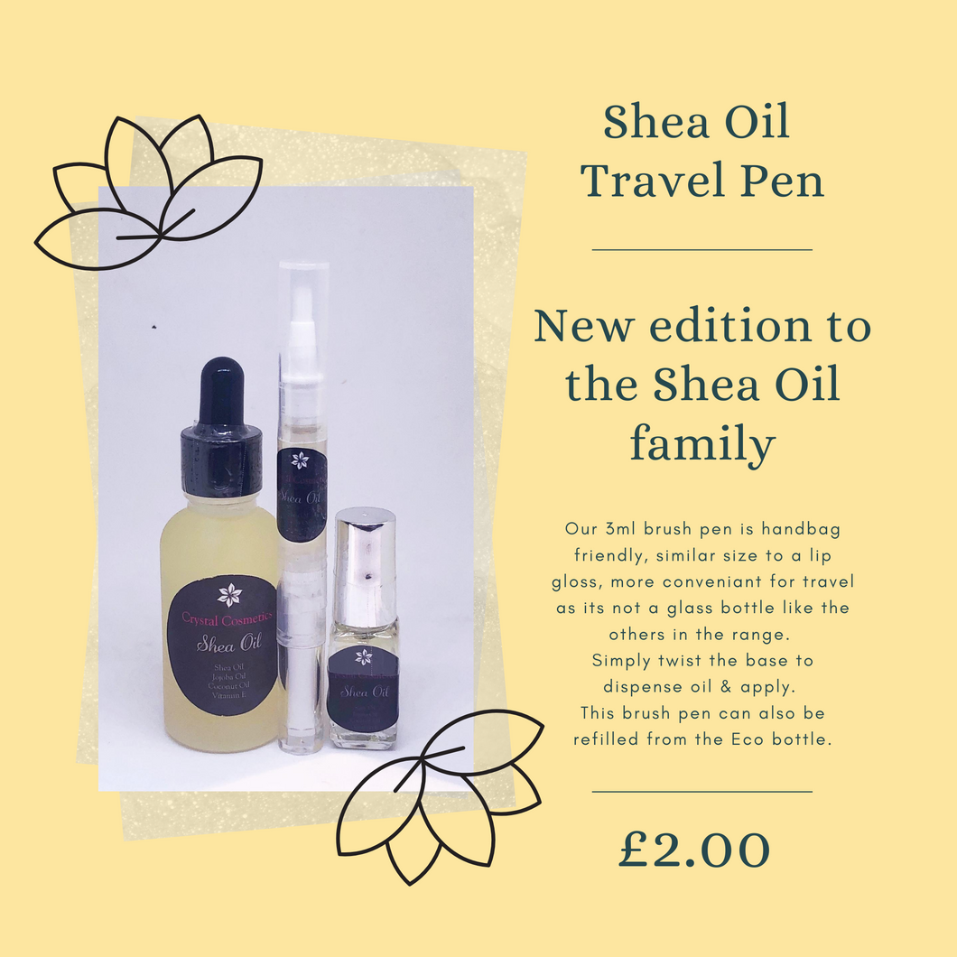 Travel Sized Shea Oil Pen