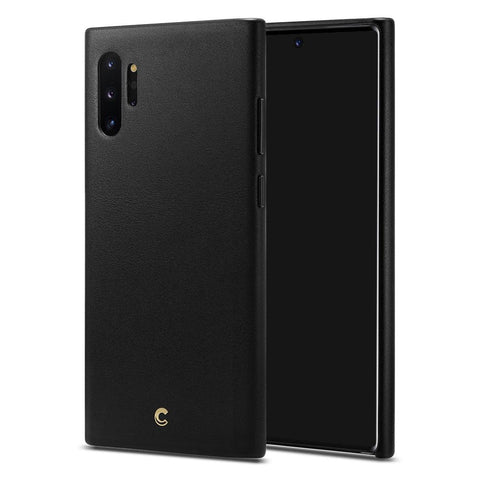 Galaxy Note 10 Plus Basic Leather - Black
