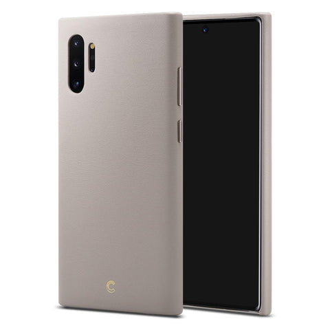 Galaxy Note 10 Plus Basic Leather - Taupe