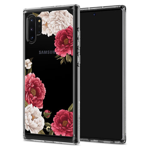 Galaxy Note 10 Plus Cecile - Red Floral