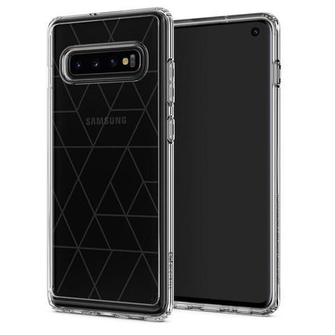 Galaxy S10 Cecile - Clear Graphic Pattern