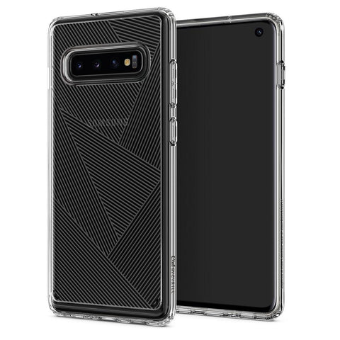 Galaxy S10 Cecile - Clear Prism Pattern