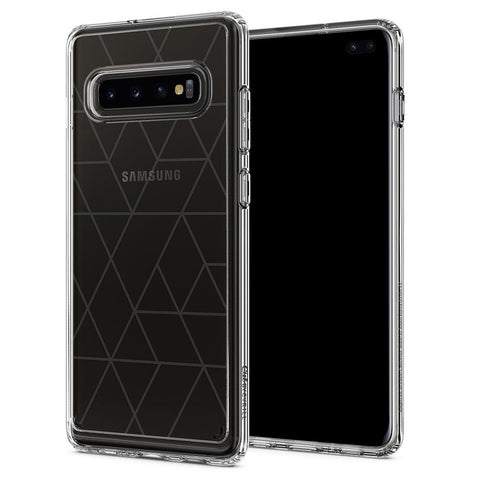 Galaxy S10 Plus Cecile - Clear Graphic Pattern