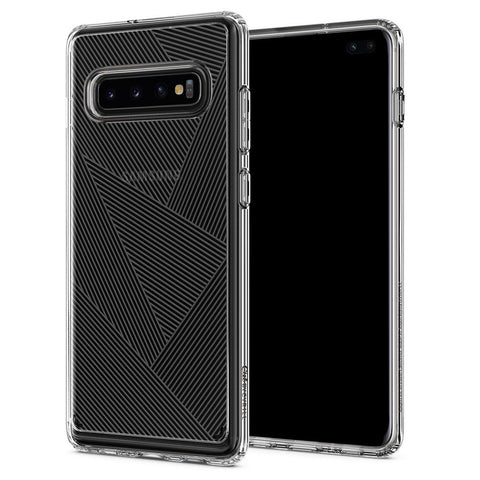 Galaxy S10 Plus Cecile - Clear Prism Pattern