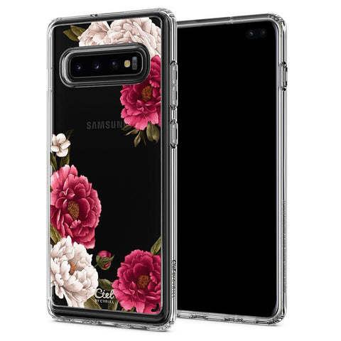 Galaxy S10 Plus Cecile - Red Floral