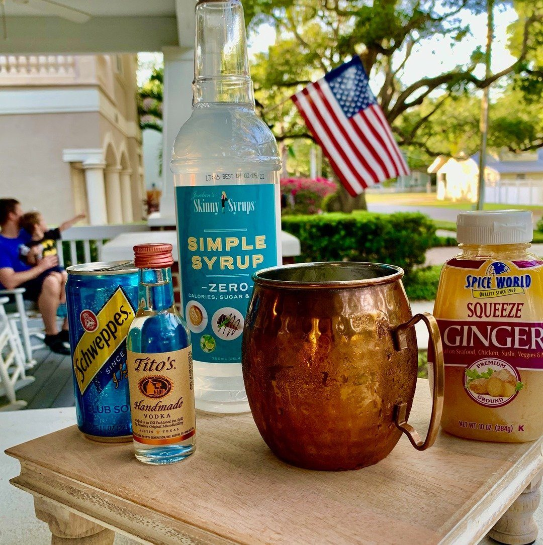 Skinny Moscow Mule Recipe