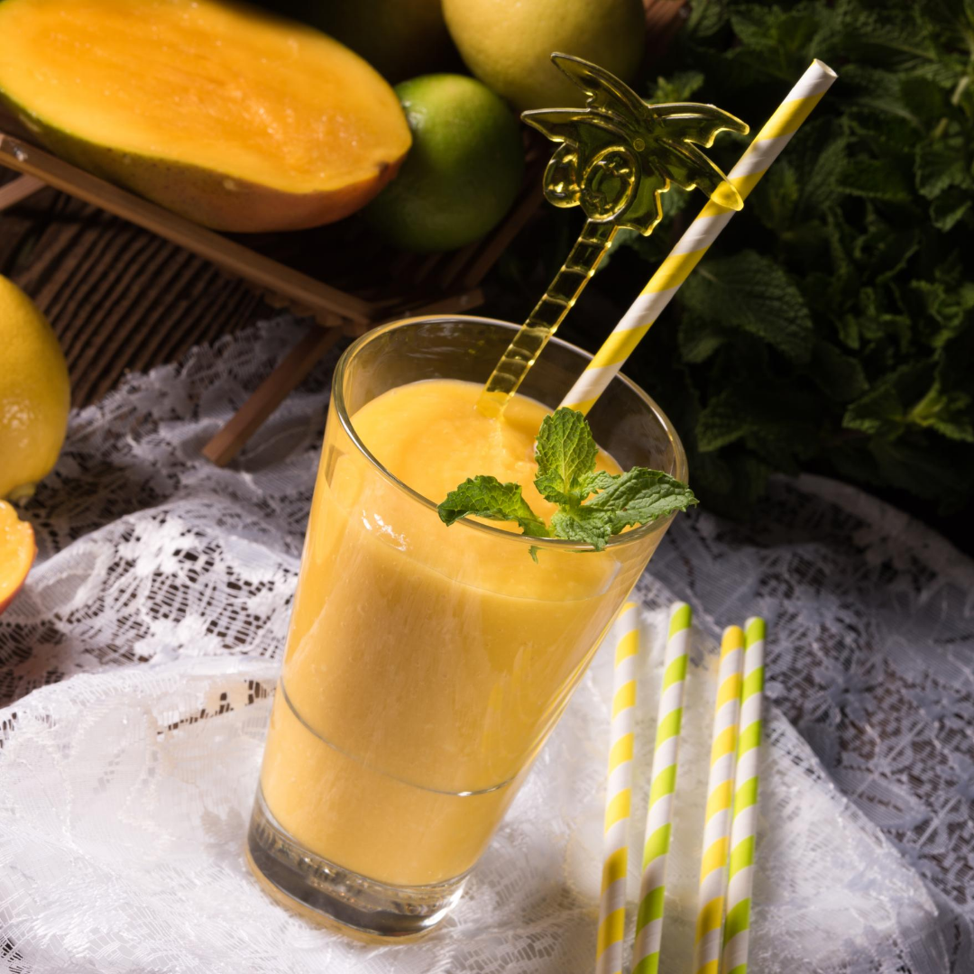 Skinny Mango Yogurt Smoothie