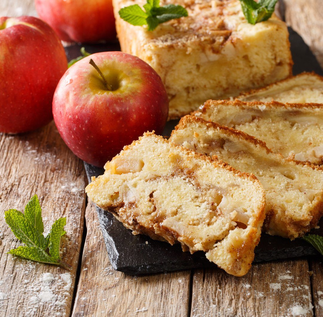 Cinnamon Apple Jacked Bread