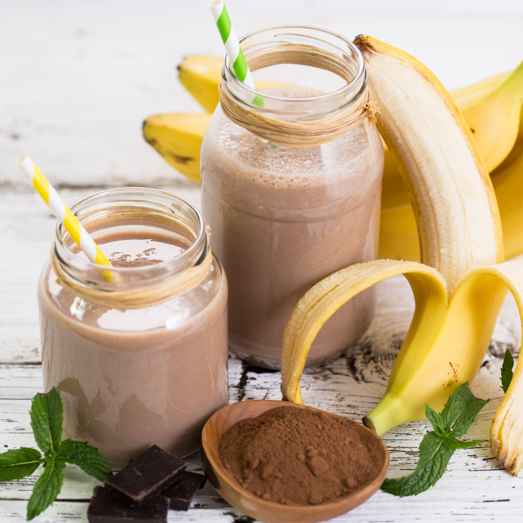 Chocolate Banana Smoothie Ingredients