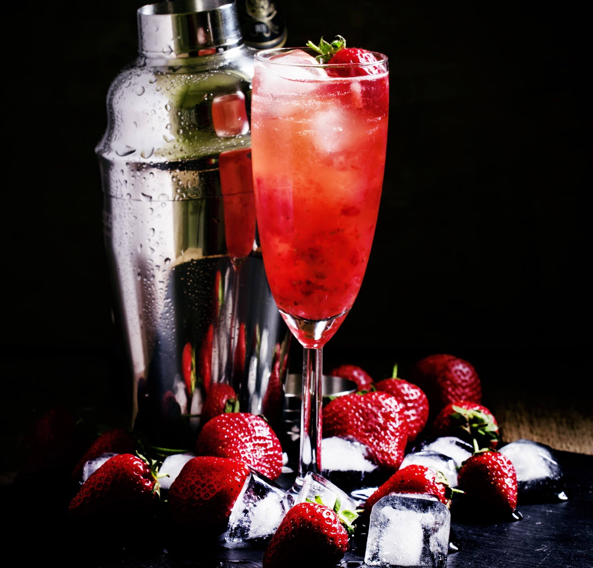 Strawberry Rose Champagne