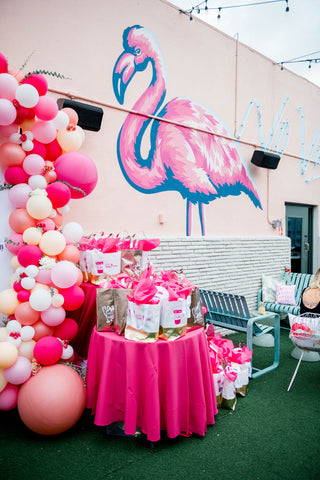 Party favors and balloons to give guests at your party