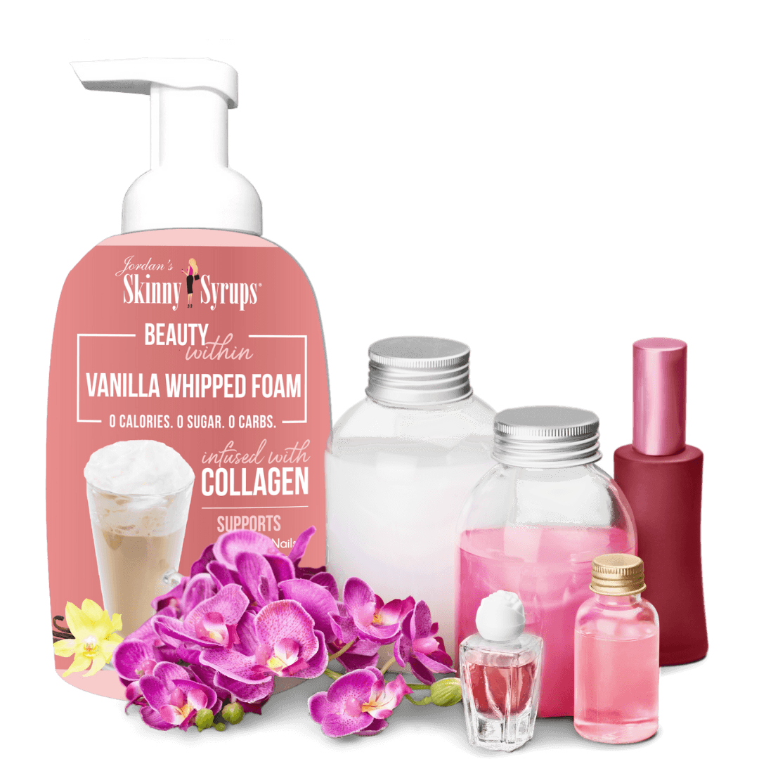 Vanilla Collagen Whipped Foam Whipped Foam Topping Whipped Foam Topping