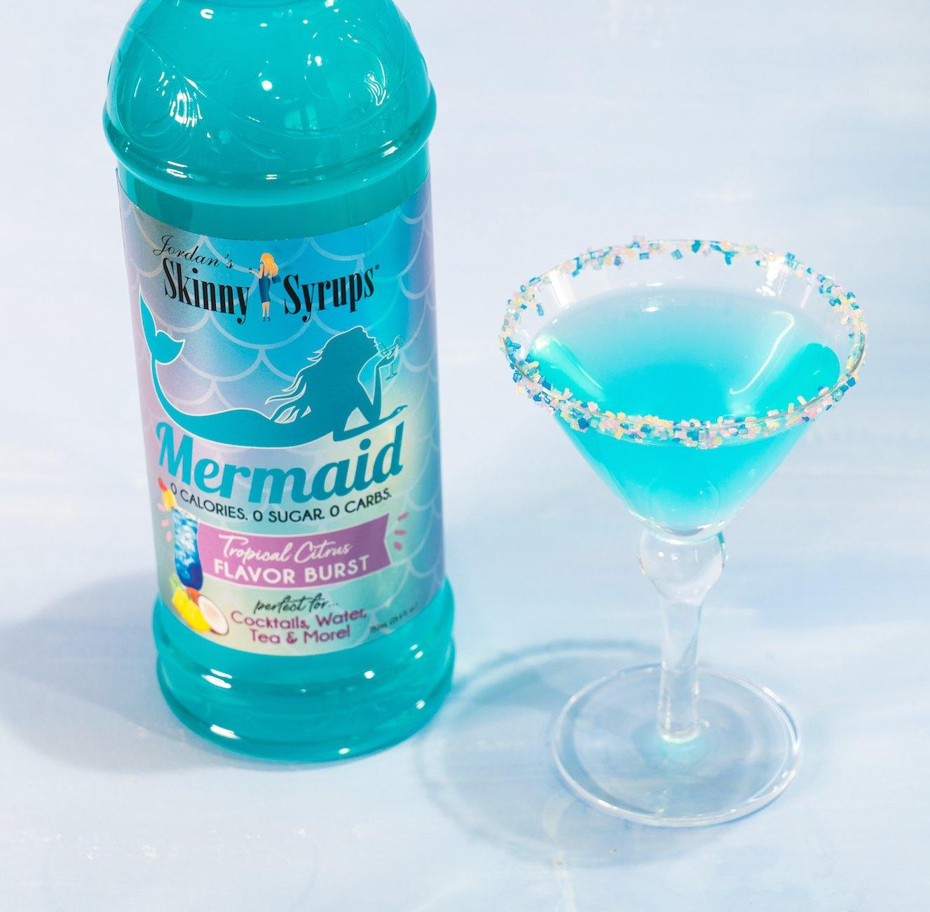 Sugar Free Mermaid Syrup - Skinny Mixes