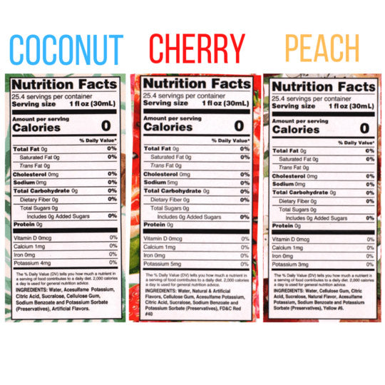 Fruit Syrup Collection - Skinny Mixes