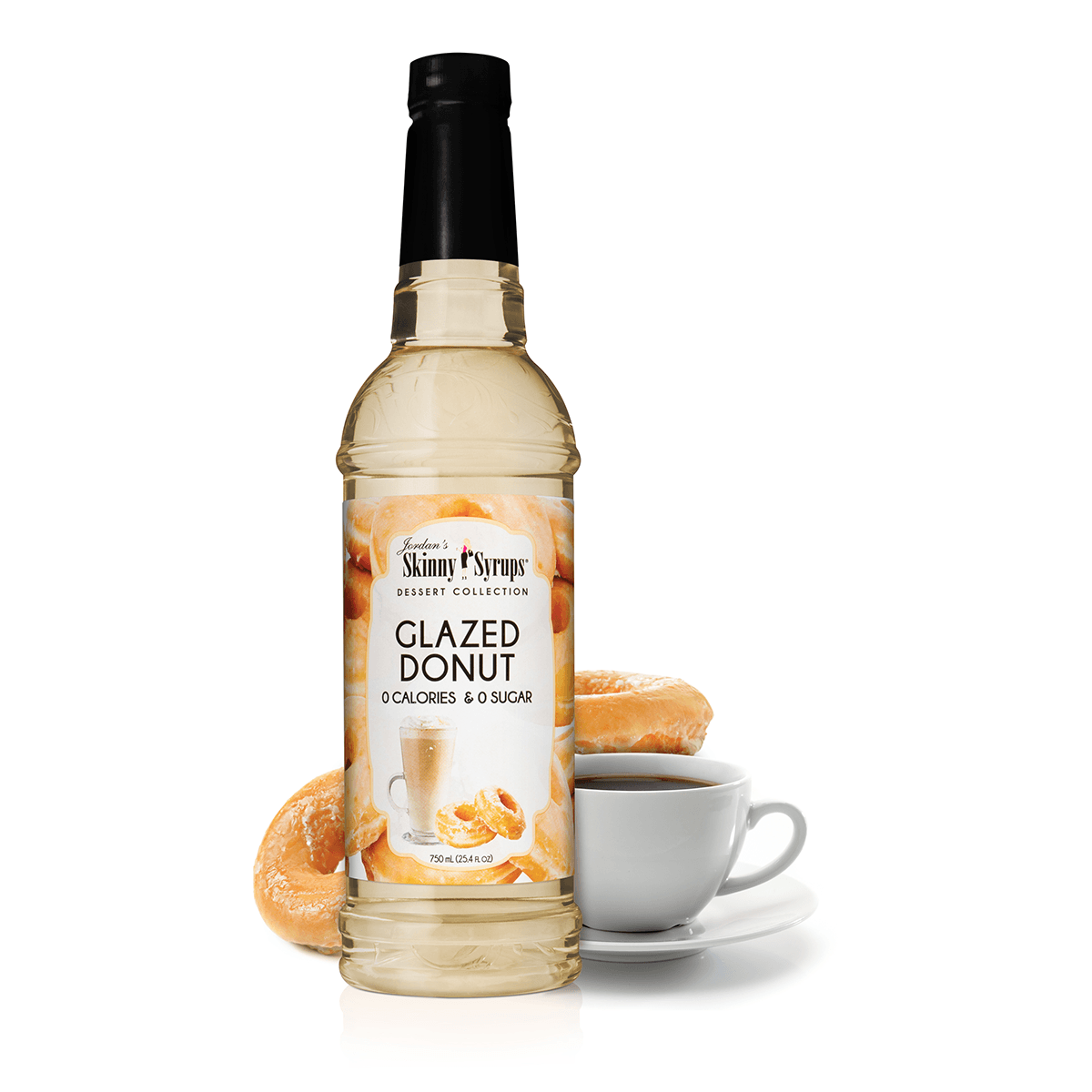 Sugar Free Glazed Donut Syrup - Skinny Mixes