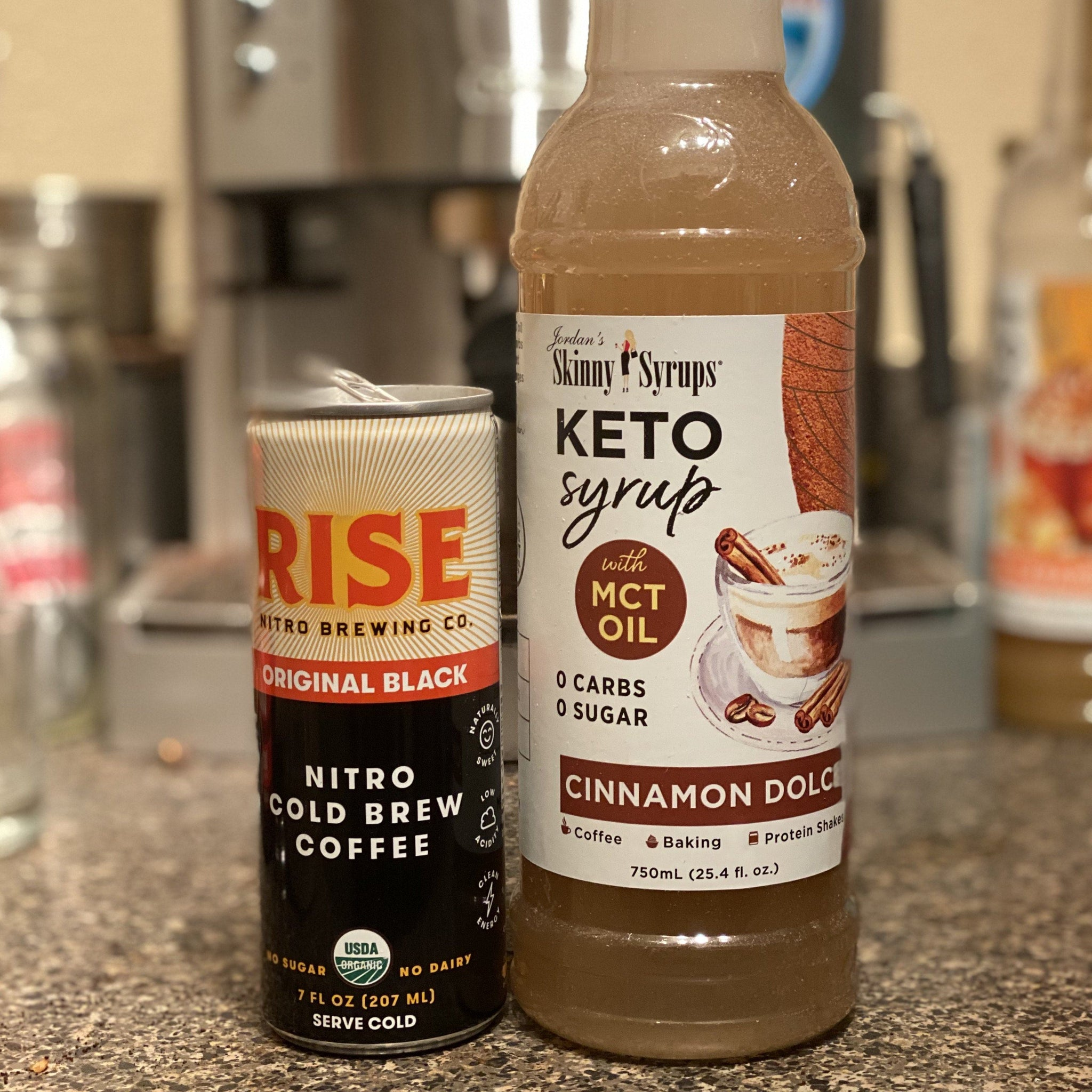 Keto Cinnamon Dolce Syrup with MCT - Skinny Mixes
