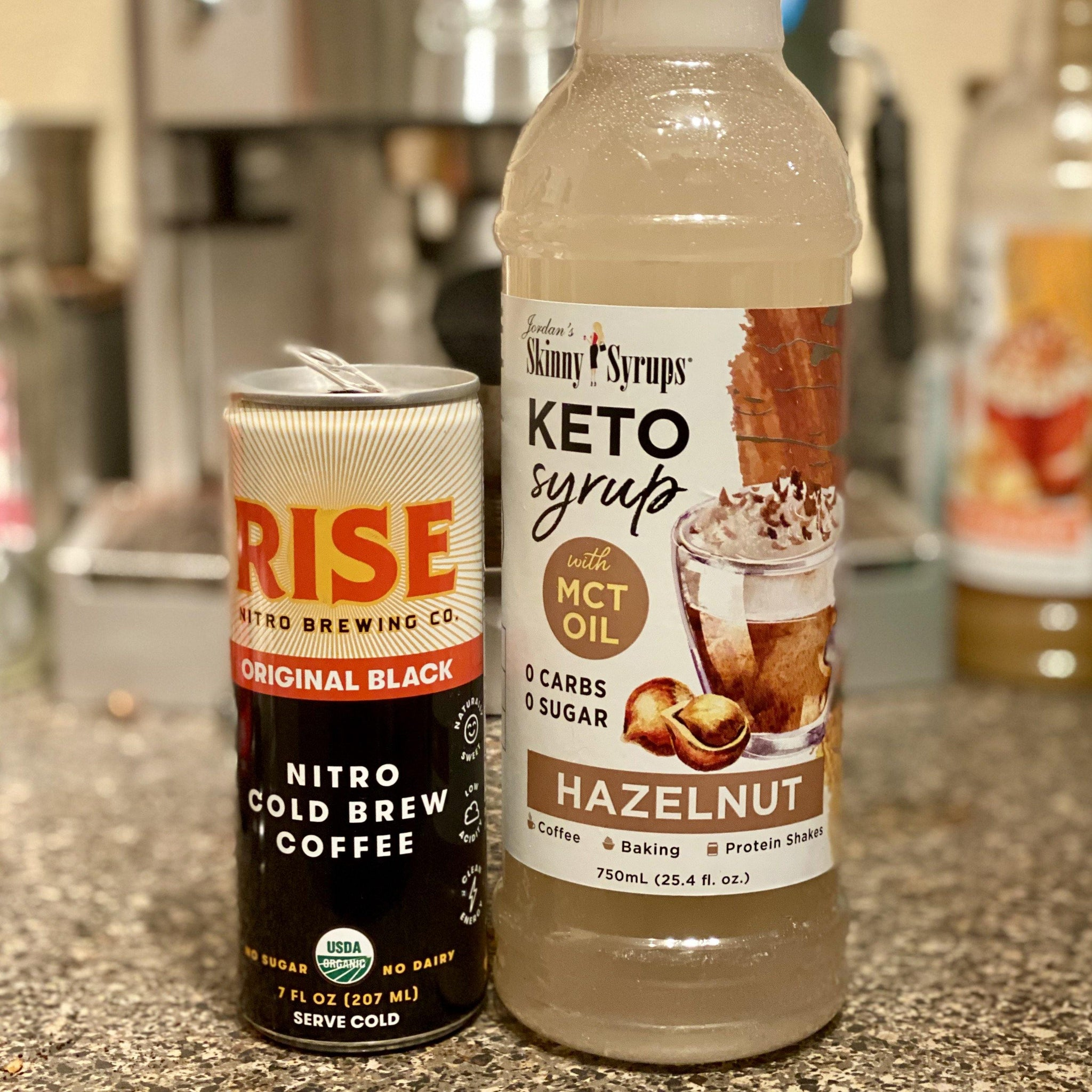 Keto Hazelnut Syrup with MCT - Skinny Mixes