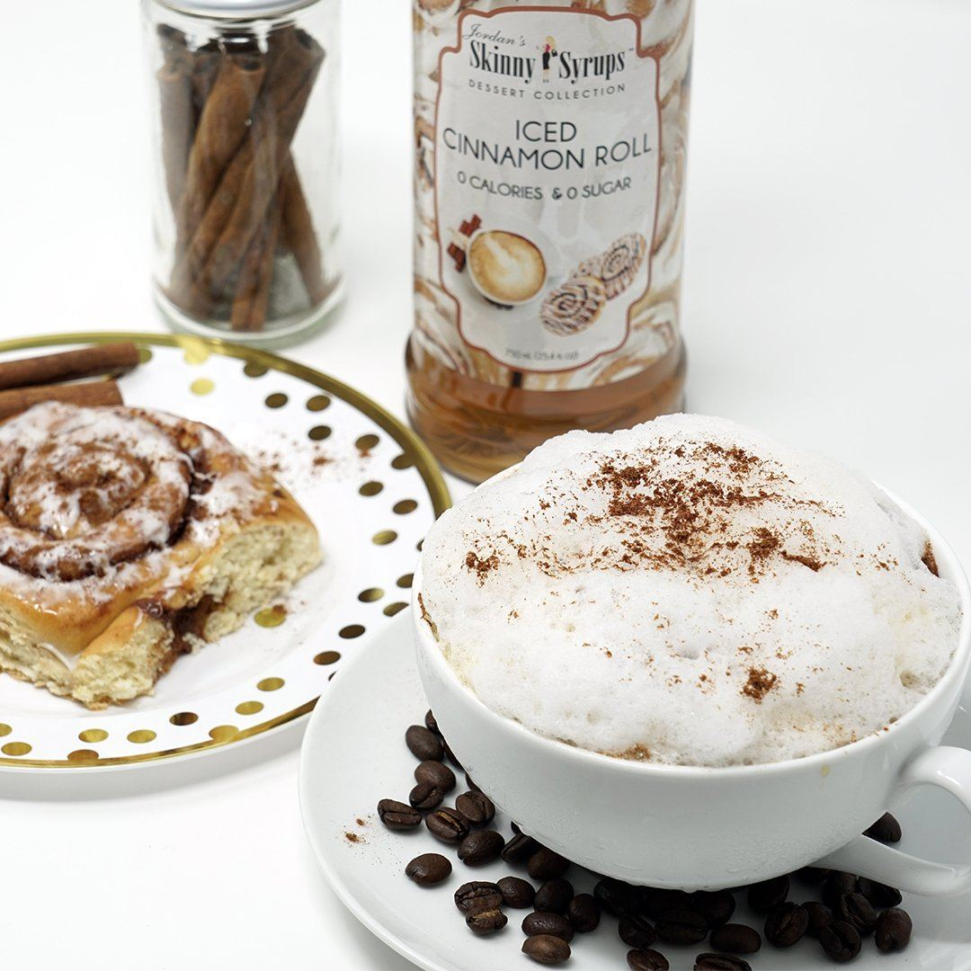 Sugar Free Iced Cinnamon Roll Syrup - Skinny Mixes