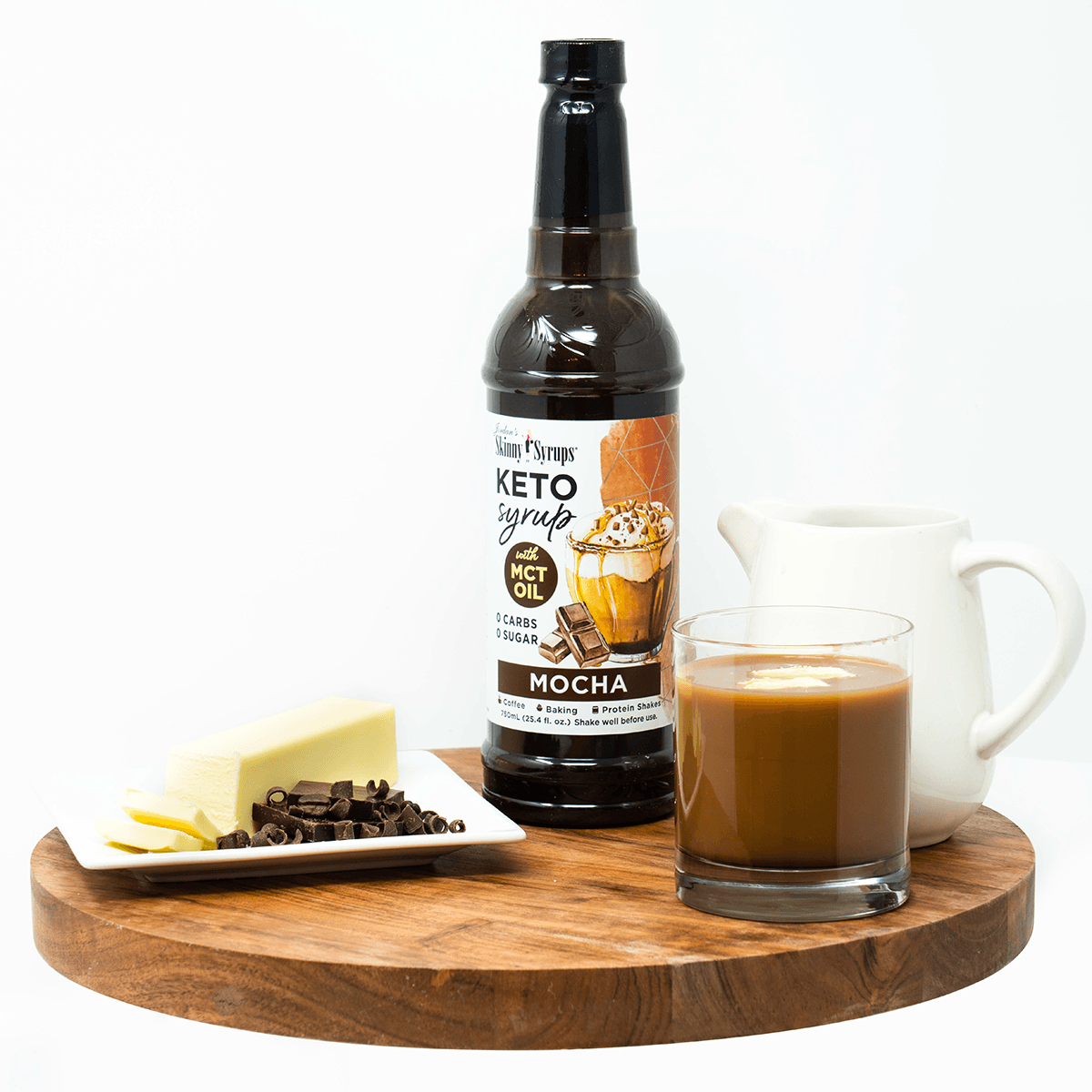 Keto Mocha Syrup with MCT - Skinny Mixes