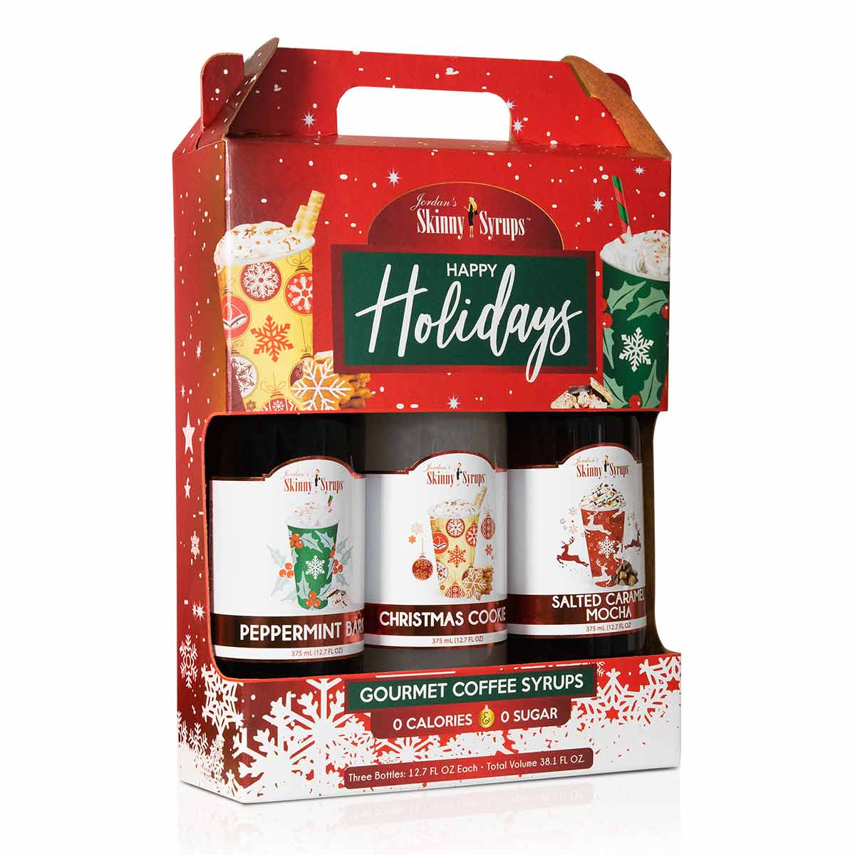 Happy Holidays Syrup Trio - Skinny Mixes