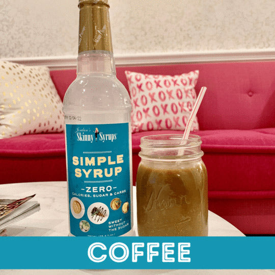 Sugar Free Simple Syrup - Skinny Mixes