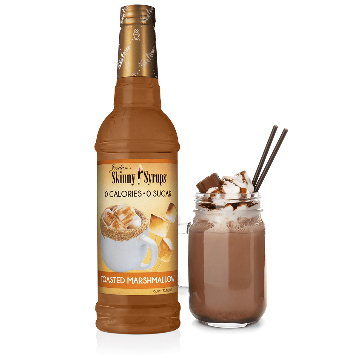 Sugar Free Toasted Marshmallow Syrup - Skinny Mixes