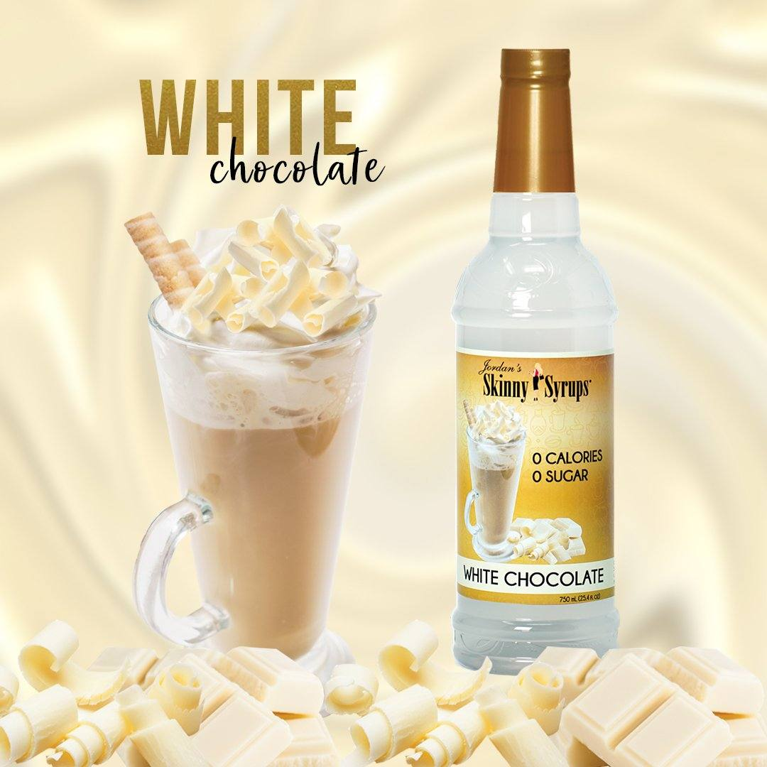 Sugar Free White Chocolate Syrup Classic Syrups Skinny Syrups