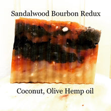 Load image into Gallery viewer, Sandalwood Bourbon Moisturizing Soap Redux