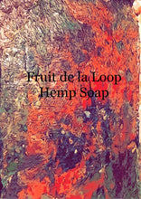 Load image into Gallery viewer, Cherry Vanilla Moisturizing Hemp Soap