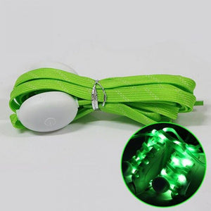120cm 1Pair Luminous Shoelaces LED Sport Shoe Laces Glow Shoe Strings No Tie Round Flash Light Shoelaces Lazy Shoe Laces #3
