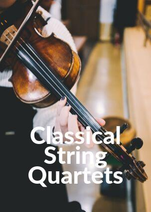 Classical String Quartet Arrangements