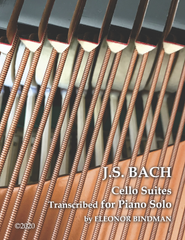 Bach Cello Suites for Piano