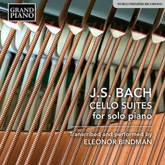 Bach Cello Suites for Piano - Recording