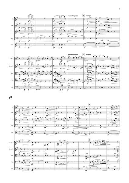 Elgar, Edward: Violin Concerto in B minor, Op. 61 (arr. for String Quintet & Wind Quintet) (AEGC10)