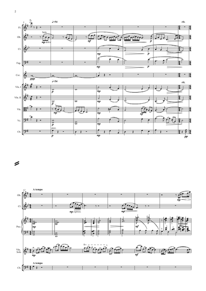 Gang, Chen & Zhanhao, He: The Butterfly Lovers (arr. for String Quintet & Wind Quintet) (AEGC12)