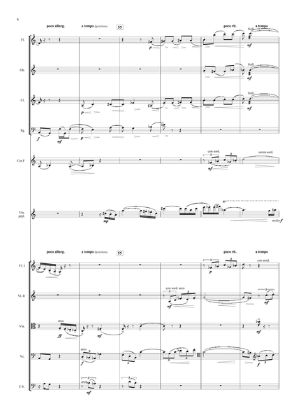 Berg, Alban: Violin Concerto (arr. for String Quintet & Wind Quintet) (AEGC2)