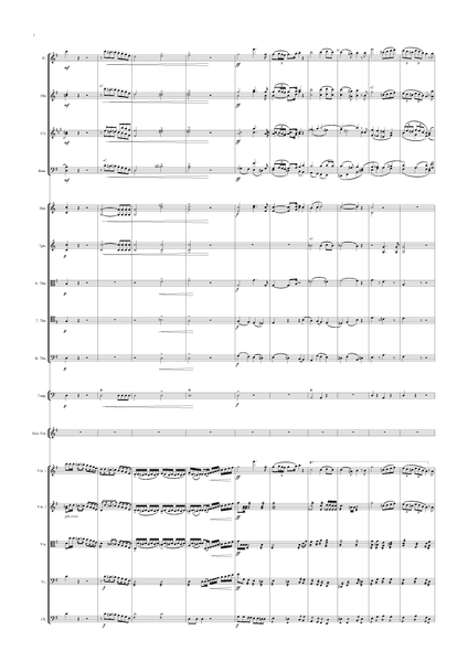 Charles Auguste de Bériot: Violin Concerto No. 7 in G Major, Op. 76 – full score (NXP003)