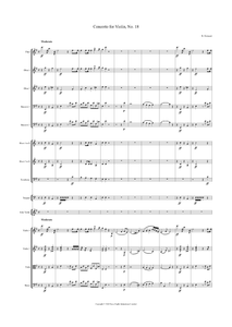 Rodolphe Kreutzer: Violin Concerto No. 18 in E Minor – full score (NXP016)