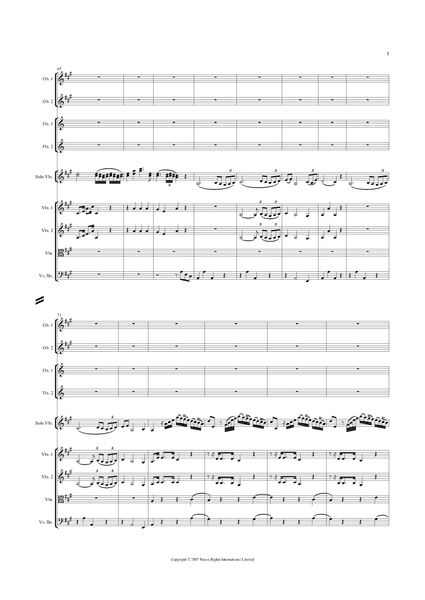 Rodolphe Kreutzer: Violin Concerto No. 2 in A major – full score (NXP019)