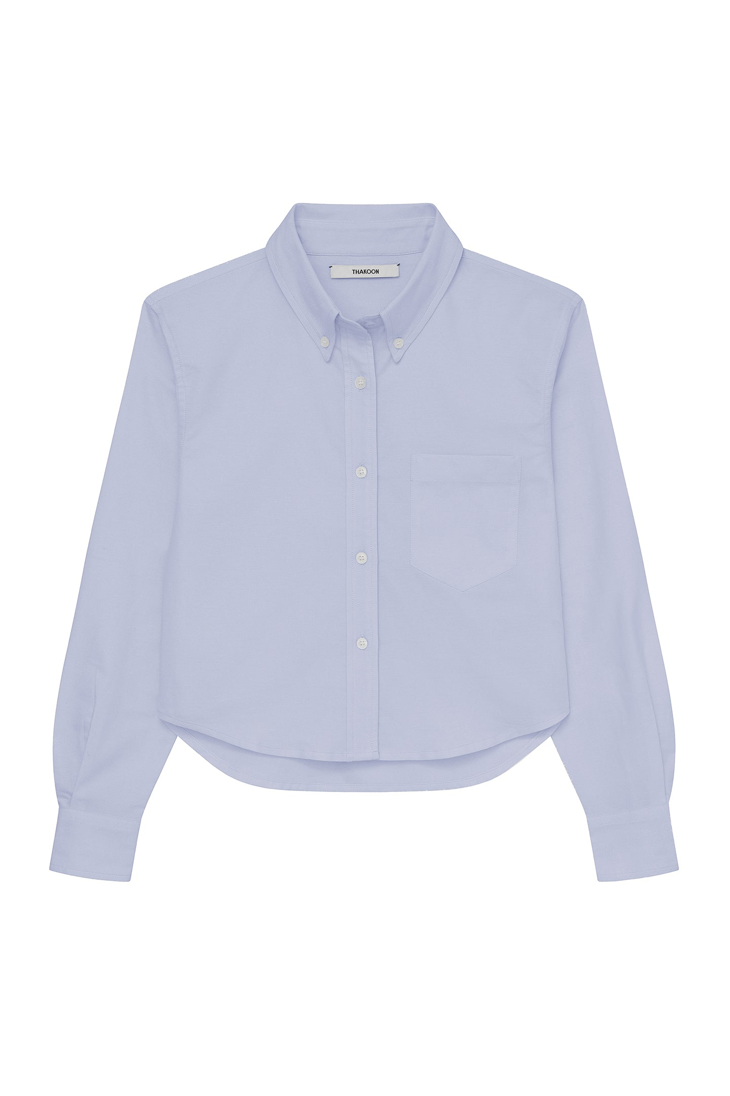 Cropped Oxford Shirt