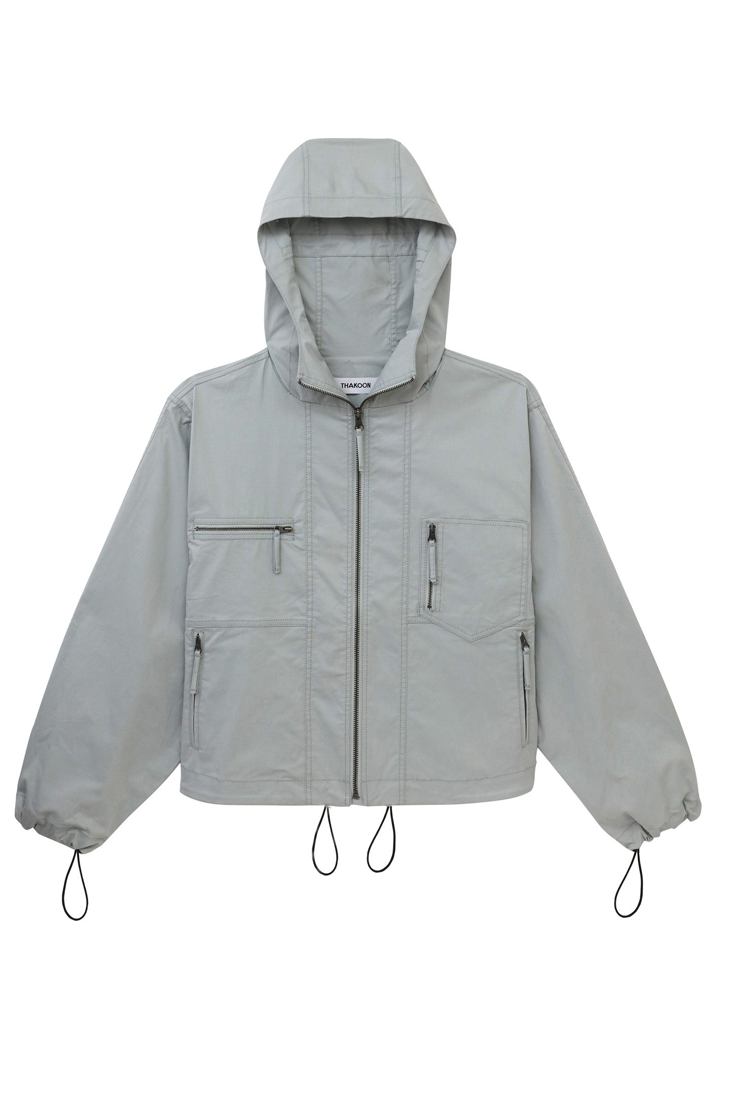 Cotton Zip-Up Jacket