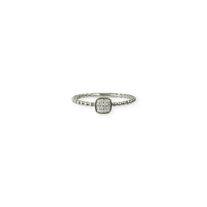 Square & Ball Ring