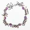 Miriam Haskell Lavendar Necklace with pears and fringe beads