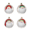 Vietri Old Saint Nick Assorted Ornaments - Set of 4