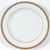 Christofle Malmaison Gold Salad and Dessert Plate